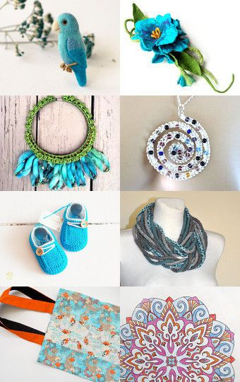 Summer turquoise by Barbara Jensen on Etsy--Pinned with TreasuryPin.com