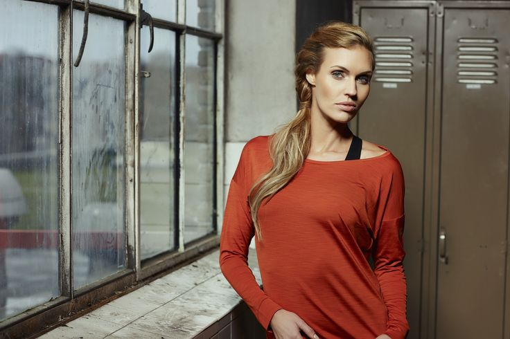 PureLime fitness wear AW 2015 - shirt, red