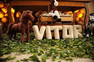 Fazendo Festa - decoração infantil e chá de bebê!: Haras do Vitor! Meu pequeno Cowboy!