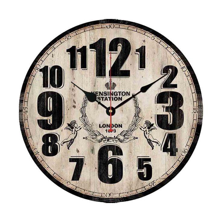 Купить товарРетро 12 дюймов настенные часы старинные сельский страна тосканской стиль тихая деревянные стены часы для дома и офиса обстановка отеля в категории Настенные часына AliExpress.  Ретро 12 дюймов старинные настенные часы загородном тосканские стиль молчит деревянные настенные часы домашнего офиса о
