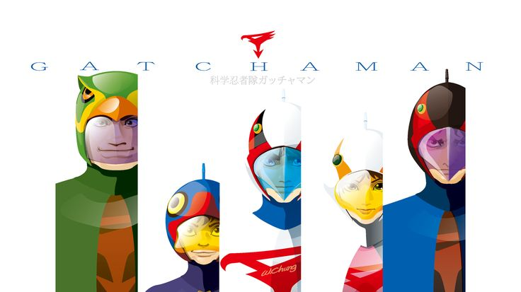 G-Force#Battle of the Planets #龍之子# 龍之子#Tatsunoko Production Co. Ltd.# gatchaman wallpaper#竜の子プロ#タツノコプロ#マッハGoGoGo#ハクション大魔王#科学忍者隊ガッチャマン 新造人間キャシャーン#破裏拳ポリマー#宇宙の騎士テッカマン#ヤッターマン#Yatterman#ゴワッパー5 ゴーダム CARTOON#COMIC#MANGA#DRAWING#ILLUSTRATION#GALACTOR#Galactor (ギャラクター, Gyarakutā)#by wolf chung#肥仔聰