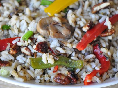 Wild Rice with Peppers & Pecans from @Albertsons