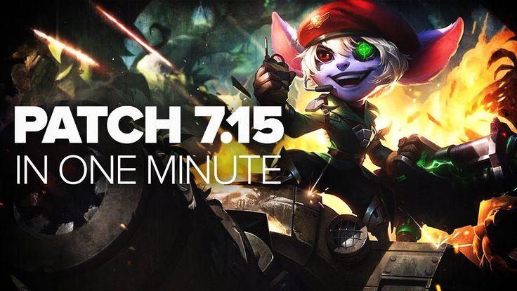 League of Legends Patch 7.15 in a Minute - Urgot, Akali, Cho'Gath, Ekko,...