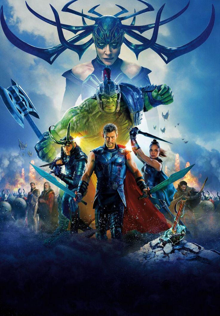 Poster Thor Ragnarok sem texto (2)