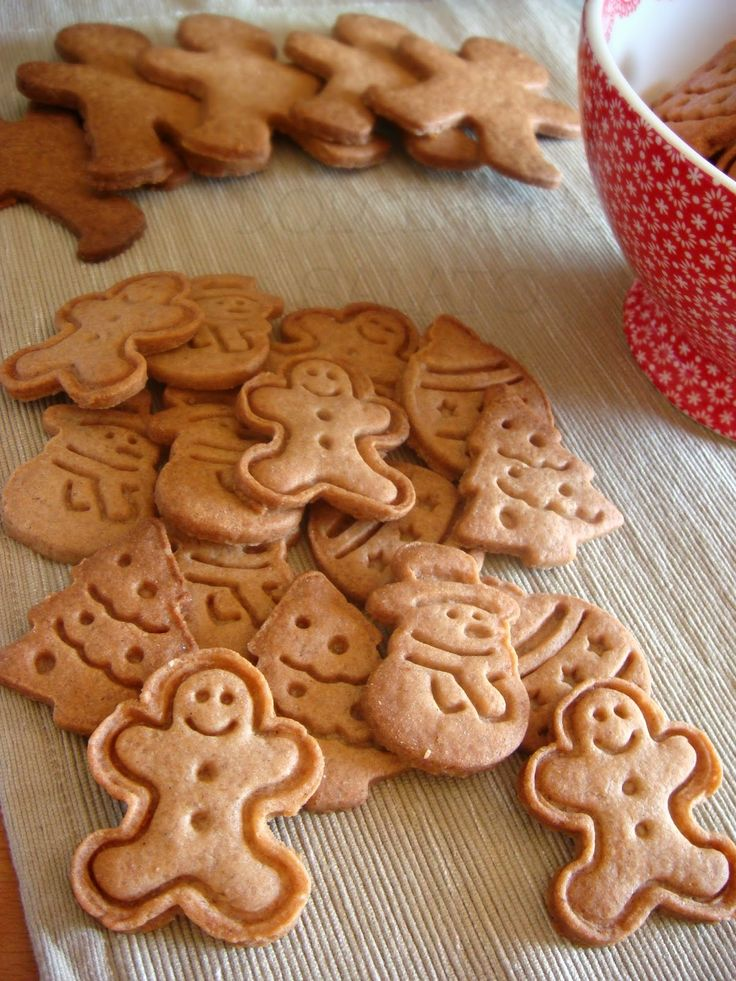 DOLCEmente SALATO: Biscotti di pan di zenzero di Montersino