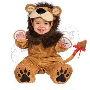 Costume Leone baby