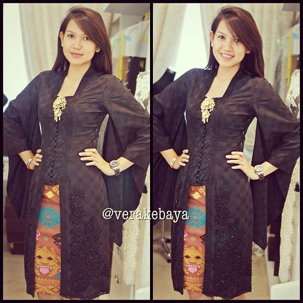 Fitting #kebaya #partydress #tenun #fashion #eveningdress #verakebaya ❤❤❤... thanks @ariafauziah - verakebaya @ Instagram Web Interface - 5t...