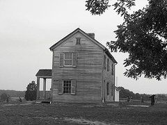 Clapboard House Photos - Manassas Battlefield by Christiane Schulze