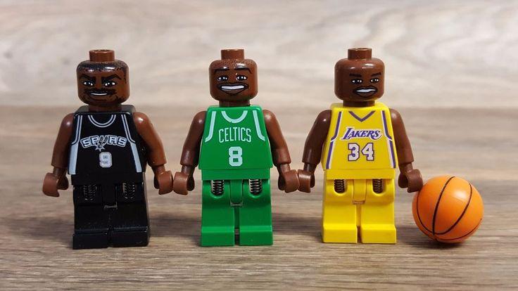 Лот lego nba Shaquille Онил, Антуан Уокер, и Тони Паркер.   Игрушки и хобби, Конструкторы, Конструкторы LEGO   eBay!