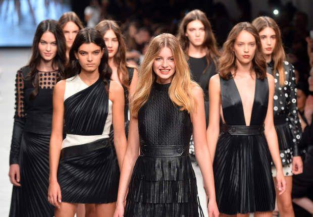 Les 8 finalistes filles du concours Elite Model Look France