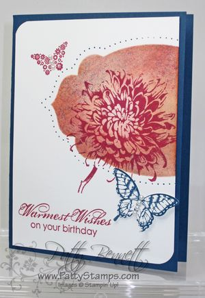 June technique apothecary accents: Technique, Butterfly Cards, Birthday Cards, Creative Cards, Art Stamps, Aa Stamped, Flower