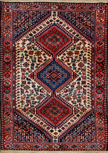 Yalameh Persian Rug X Authentic Handmade