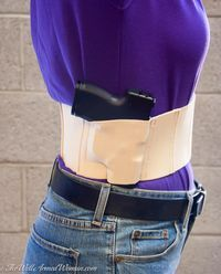 Belly Band Concealed Carry Holster For Women