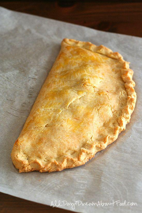 Low Carb Ham & Cheese Calzones Recipe | Thinking of left over Easter Ham recipe - looks wonderful