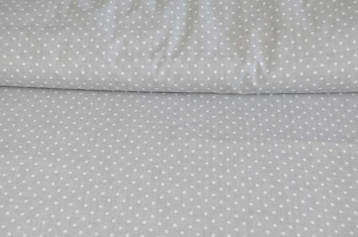 Bawełna w kropeczki Gray cotton