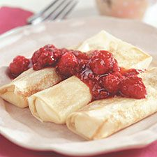 Cheese Blintzes  (I think I'm making these for Easter, to serve as an appetizer. Instead of ricotta, I'm going to use the much creamier mascarpone)