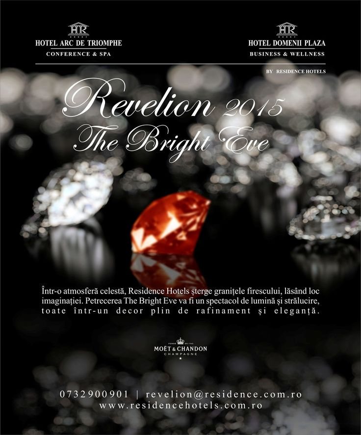 The Bright Eve at Residence Hotels. #residencehotels #newyearseve