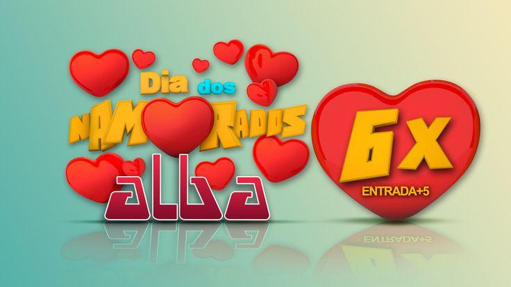 Arte 3D max - Dia dos Namorados