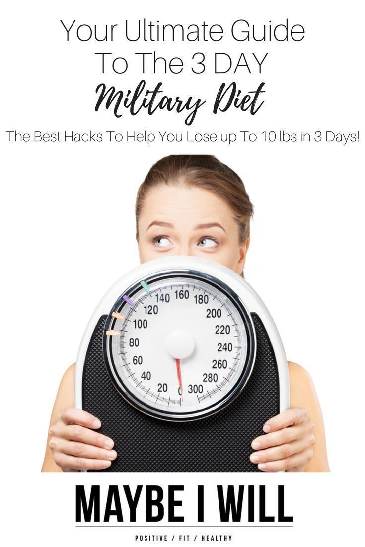 The 3 Day Military Diet - Your Ulitmate guide to hacks and substitutes to ensure your ROCK your results!!