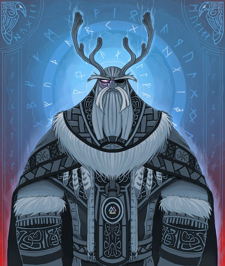 ODIN Allfather by Olafski.deviantart.com on @deviantART