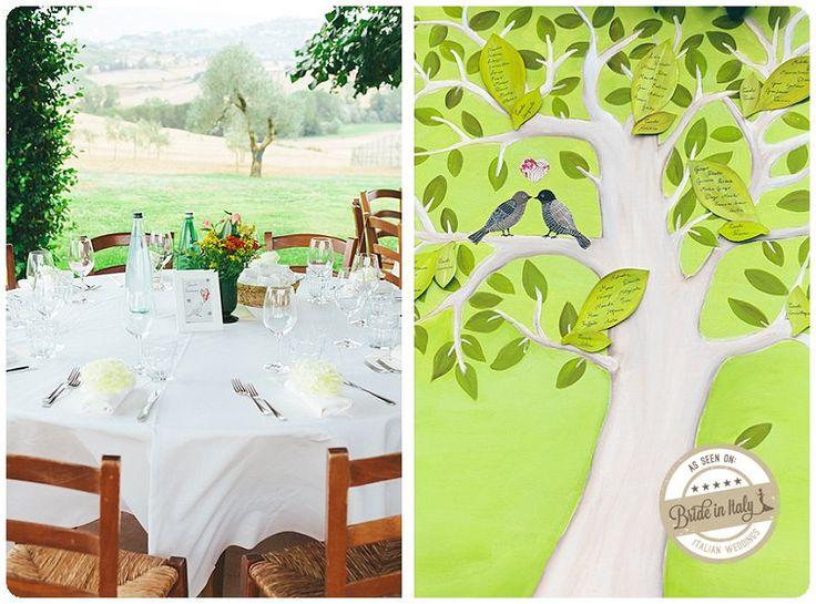Tableau mariage with handmade drawings. How lovely. Ph Studio A+Q http://www.brideinitaly.com/2012/12/real-wedding-matrimonio-naif-paliano-aq.html #italianstyle #diy #wedding