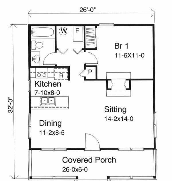 600 Square Foot House Floor Plans Beautiful Californian 500 Sq Ft House Plans In Kera In 2020 Tiny House Floor Plans Small House Floor Plans Cottage Style House Plans