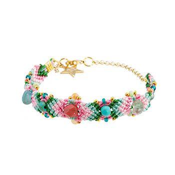 Beautiful bracelet Ibiza-style.