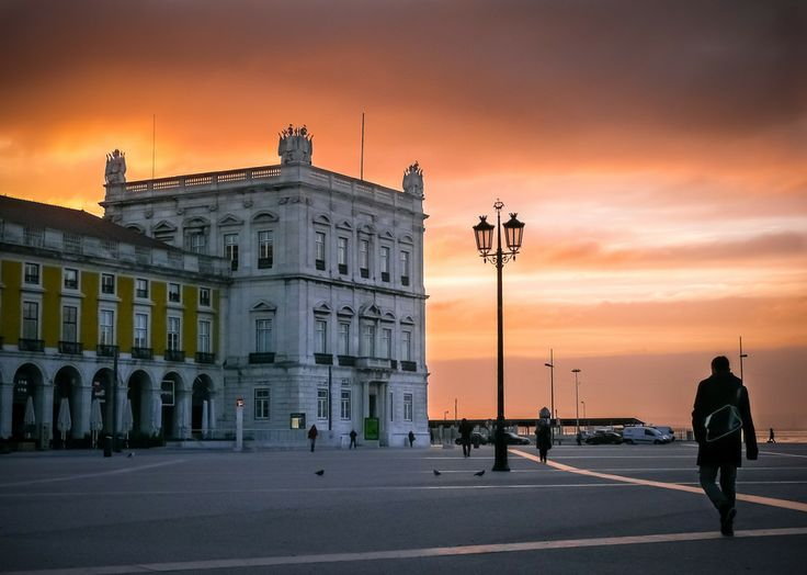 Commerce Square, Lisbon, Portugal by Joaquim Machado on 500px
