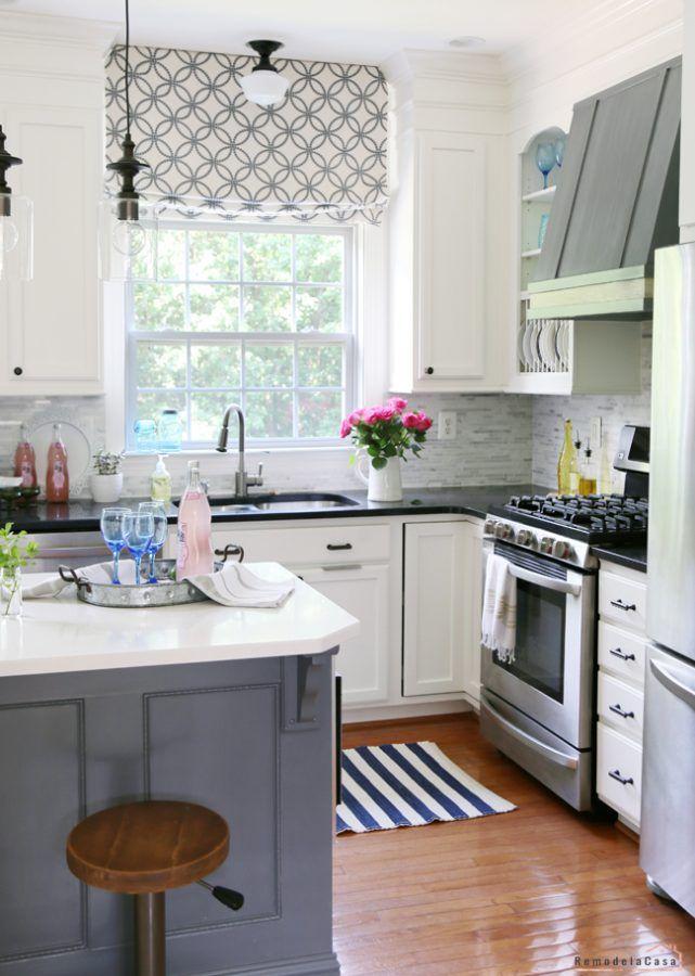 gordijnen keuken