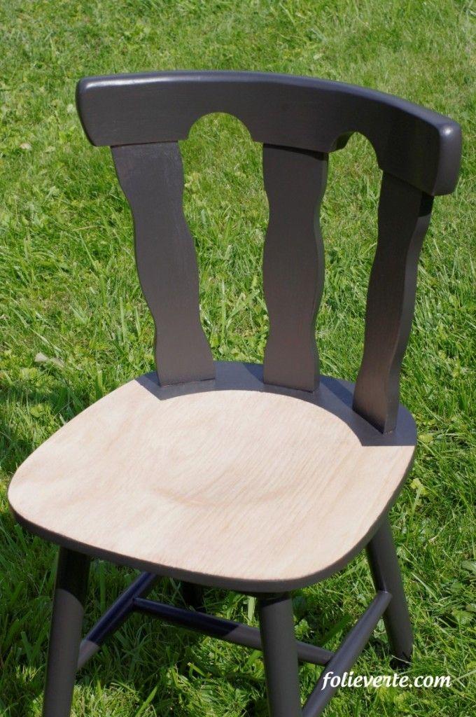 17 meilleures id es propos de chaise verte sur pinterest for Restaurer une chaise en bois