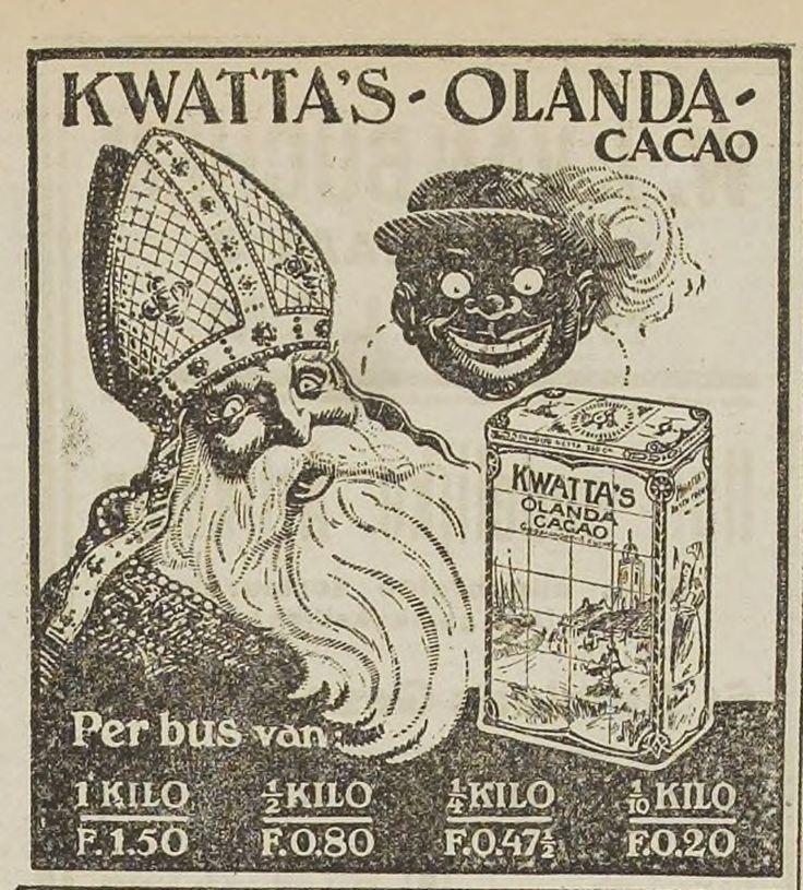 Sinterklaas advertentie 1921