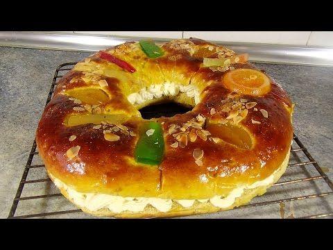 Roscón de Reyes. Cómo hacer roscón de Reyes casero | Pequerecetas.com - YouTube