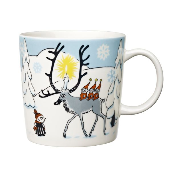 Winter Forest Moomin mug.