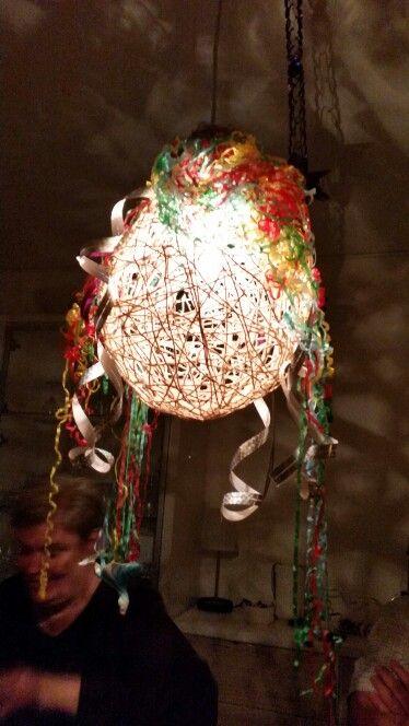 Pyntet lampe