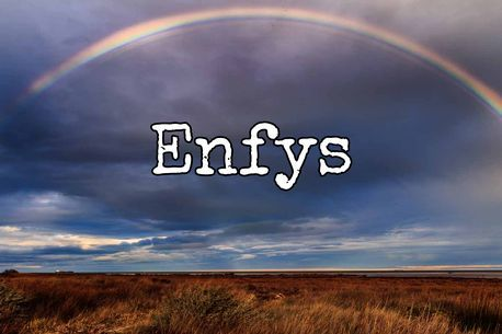 Welsh girl name Meaning: Rainbow.                                                                             How you say it: En-viss