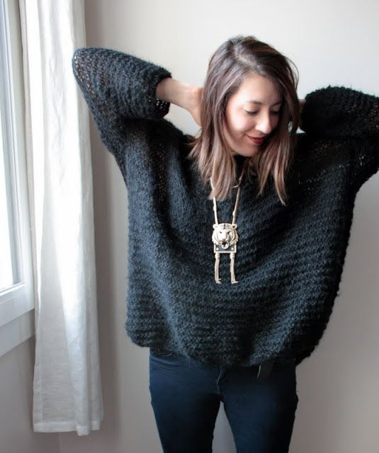 CATCAT ET SON DRESSING: DIY - le Pull Didi version Mini !!