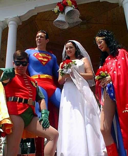 Amazing Super Hero Wedding