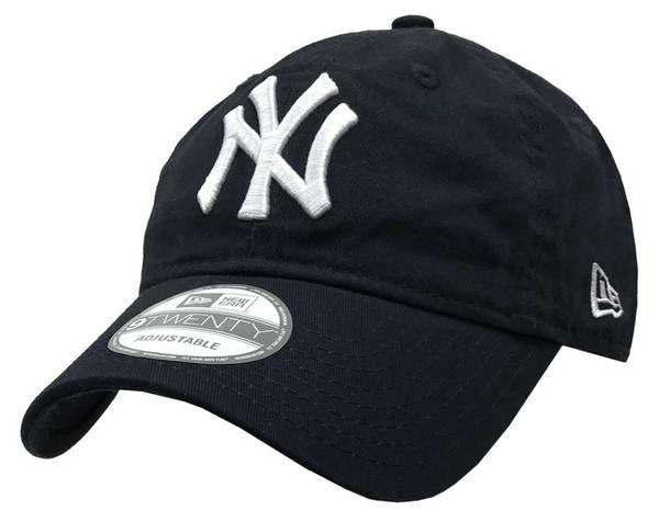 New Era MLB League 9Forty New York Yankees Team Men's Hat Navy, 10060031