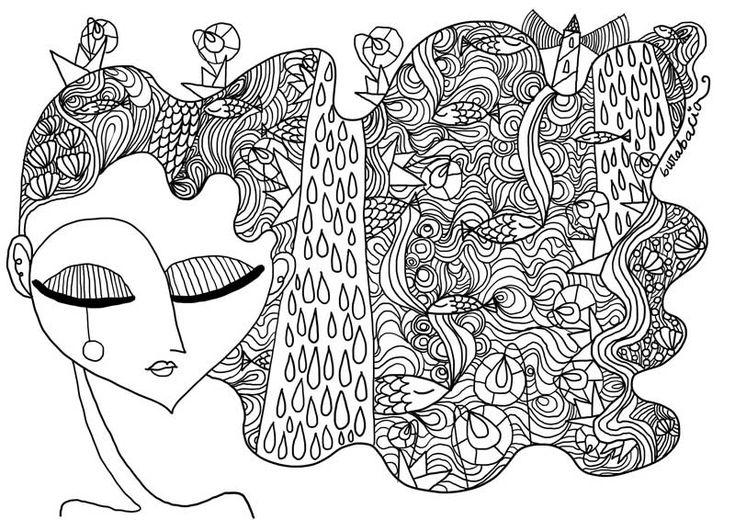 Una promessa è una promessa, oggi è il 1° settembre ed eccomi qui con un nuovo disegno da colorare. Vi ricordate le sirene coi gatti, i capelli lunghi, i tanti pesci? Qualcuno di voi mi ha mandato ...