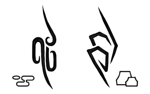 Kumo and Iwa Anbu Tattoos