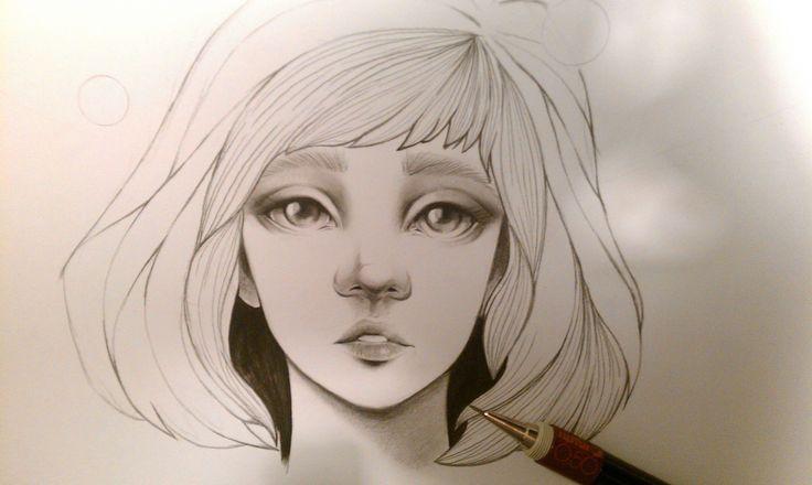 Margaret- pencil sketch