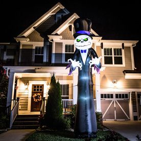 Holiday Living 16-ft Lighted Reaper Halloween Inflatable