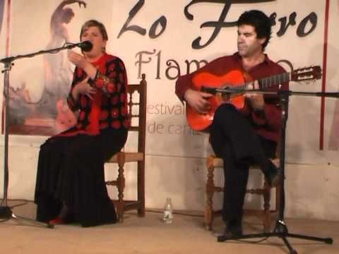 Serrana Canta Rosa de la Maria en el Festival de Cante Flamenco Lo Ferro -