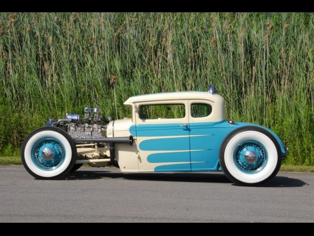 The sky's the limit - It even looks like it's moving when it's not. #HotRod #Custom #Speed