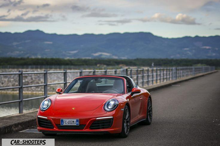 Porsche 911 Targa 4S frontale
