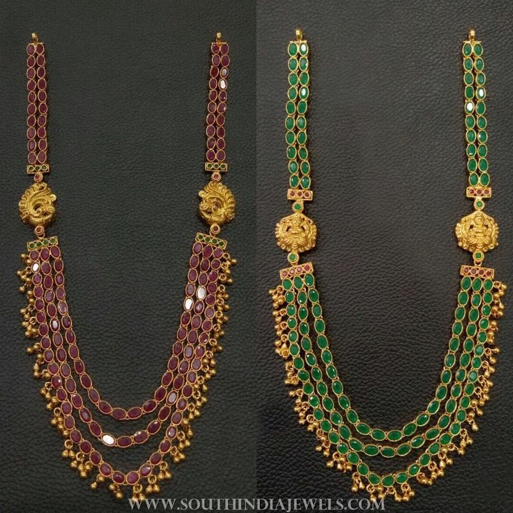 Gold plated silver step haram collections. For inquiries please contact the seller below. Seller Name : Elegance Silver Jewellery Facebook : http://www.facebook.com/elegance.kalaivani https://www.instagram.com/elegance.ks/ Email : orderatelegance@gmail.com Related PostsGold Plated Long Lakshmi Necklace with JhumkaLong Ruby Emerald Haram With EarringsRuby Emerald Haram With JhumkaPure Silver Gold Plated Temple HaramLong Mango Temple Haram SetGold Plated Antiq...