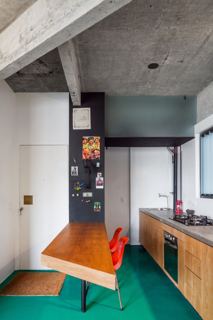 Everything In The Apartment Is Designed To Be E Efficient And Maximize Functionality