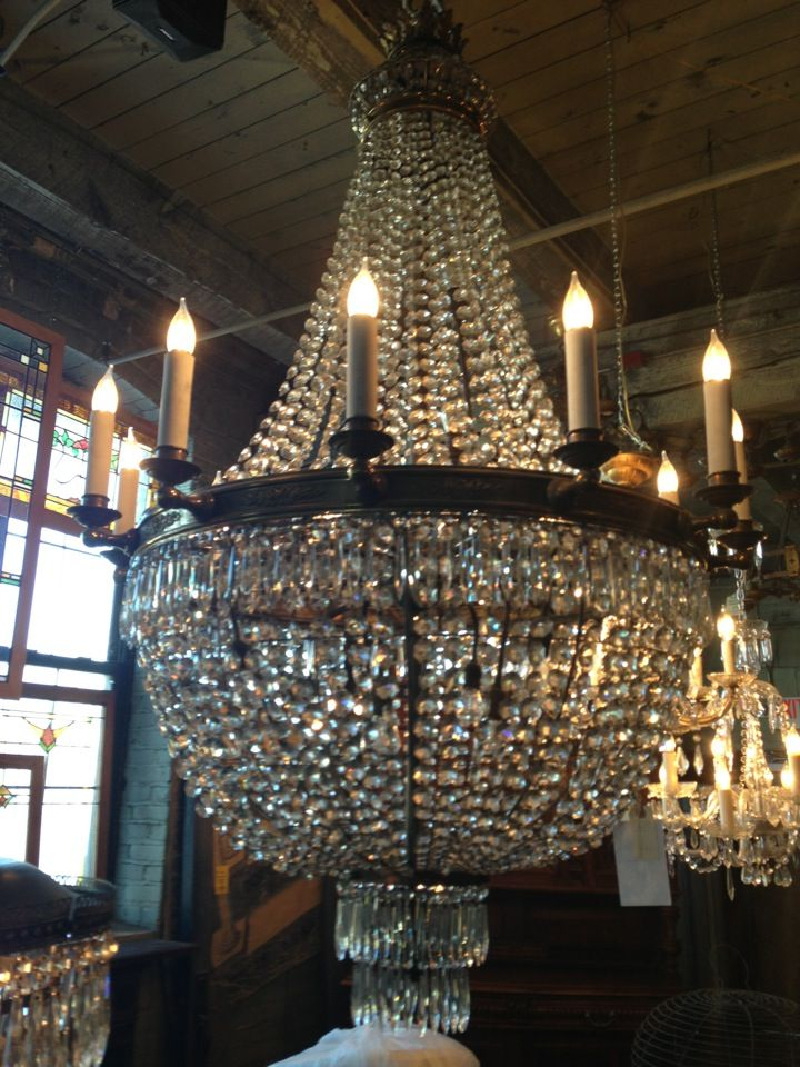 A big gorgeous antiques and salvage store in minneapolis