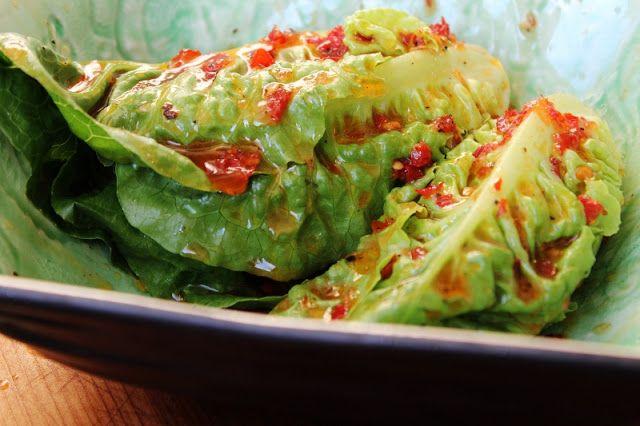 Två små kök: Gemsallad med chilidressing
