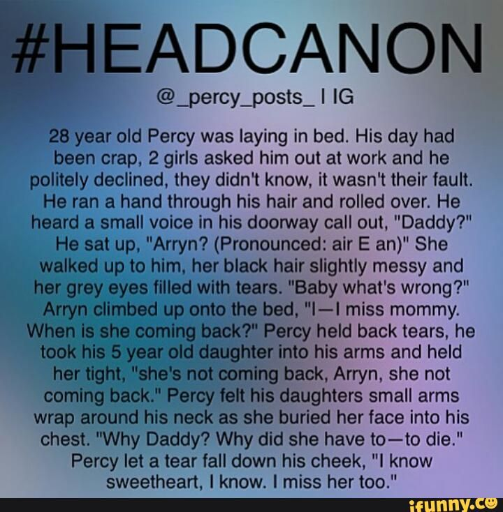 headcanons percy jackson - Google Search